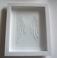 Framed Angel Wings