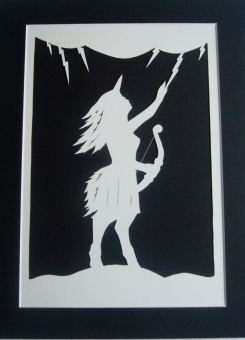 Hildegard- Battle Maiden with mount
