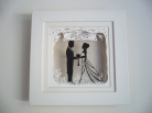 Wedding Papercut commission