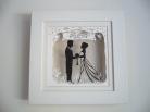 Wedding Papercut commission