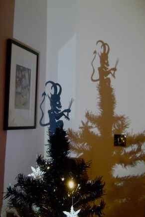 Krampus tree decoration